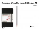 LEUCHTTURM1917 Academic agenda 2021-2022 Pocket (A6) Week planner 18 maanden