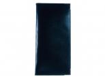 Luxury Leather Lines zakagenda 2022 met blauwe omslag / blauw papier